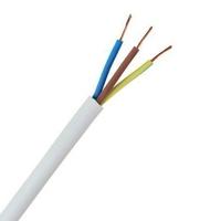 Cable 3093Y 3 Core Circular Heat Resisting Flexible PVC 1.5mmx10