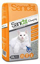 Sanicat Clumping Grey Cat Litter 20 Litre
