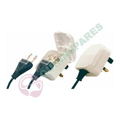 European Converter Plug: White 5A