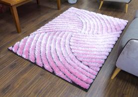 Supreme Rug - Pink/Black
