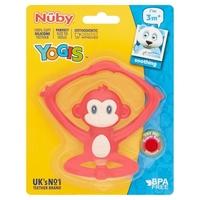 Nuby Yogi's Silicone Teether 3m+