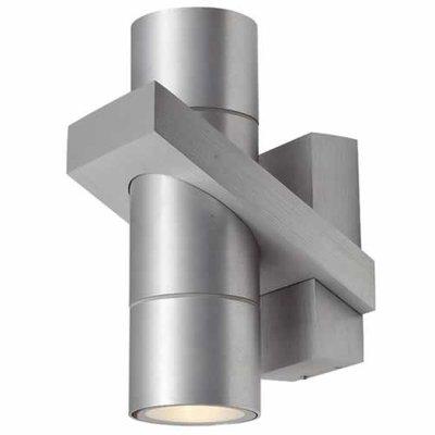 Ansell Corvus Bi Directional Wall Light Stainless Steel | LV1002.0013