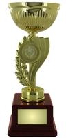 24cm Gold Metal Cup Trophy (V221)