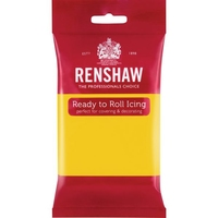 RENSHAW READY TO ROLL ICING YELLOW (1 x 250g)