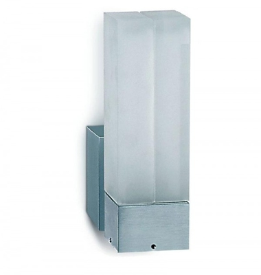 ONE Light Aluminium Wall 13W PL IP54