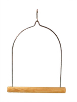 Beaks Wooden Cockatiel Swing - Large x 1