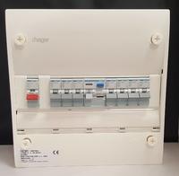 Hager 1 Row Consumer Unit