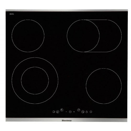 Blomberg 60cm Touch Control Electric Hob - Black