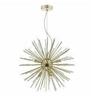 Sagan 6 Light Pendant, Gold | LV1802.0096