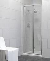 SONAS CITY BIFOLD SHOWER DOOR 1000MM (940MM TO 990MM ADJUSTMENT) CTCAB100