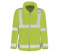 Marauder Hi-Visibility Soft Shell Jacket Yellow