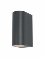 ANTAR ZN-20930-BLK GU10 UP/DOWN EXTERIOR WALL LIGHT BLACK