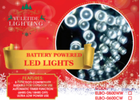 360 LED COOL WHITE LIGHTS COMES WITH 6 HR TIMER 18 METRES
