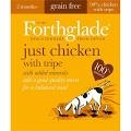 Forthglade Adult Dog Tray Just Chicken with Tripe 395g x 18