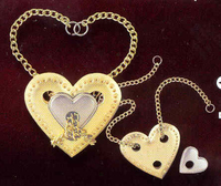 Cast Heart. Silver Cast Puzzle Difficulty Level 4. Can be ordered in multiples of 1.