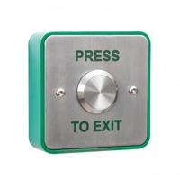 RGL Stainless steel 25mm Press to Exit Button