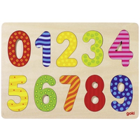 Wooden Numbers Jigsaw Puzzle