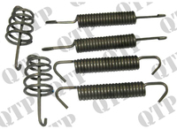 Backing Plate Spring Kit 4 Stud Hub