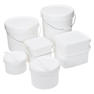 Snap Shut Buckets and Pails