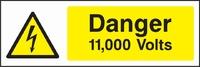 Warning and Electrical Hazard Sign WARN0006-1575