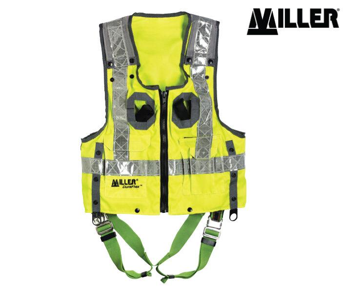 MILLER Hi-Vis Duraflex Vest Harness