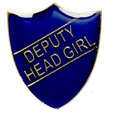 Deputy Head Girl - Badge (Blue)