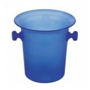 Acrylic Ice Bucket / Wine Cooler 21 x 21cm - Blue