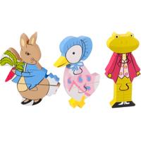 Wooden Puzzle Set - Peter Rabbit