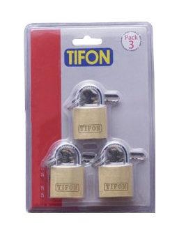 TF25 Pack of 3 Keyed Alike (Box of 6 Blistered)