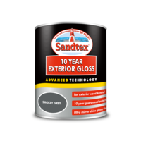 Sandtex 10 Year Gloss Smokey Grey 750ml