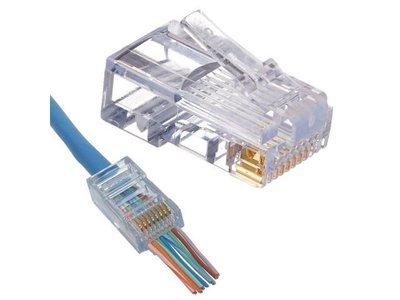 Eazy Crimps CAT5e Connectors 25 pck
