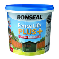 RONSEAL 5 YEAR FENCELIFE PLUS+ FOREST GREEN 5 LTR