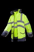 Sioen Anfield Hi-vis rain jacket