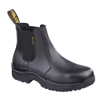 Dr Martens Black Dealer Boot S1P SRC