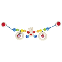 Teddy bear pram chain