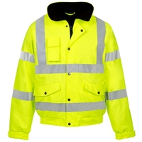 Supertouch Storm-Flex Pu Bomber Jacket, Yellow