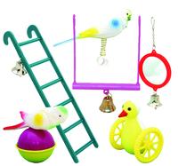 Beaks Plastic Bird Toy Assortment x 24