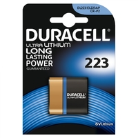 Duracell CR223 6V 1 Pack Ultra