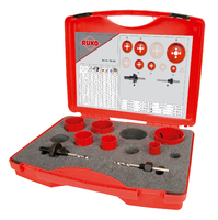 Ruko EK2 Electricians Holesaw Set 8 Pieces