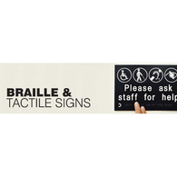 Braille & Tactile Signs