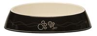 Rogz Melamine Cat Bowlz Fishcake - Black Paws 200ml x 1