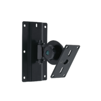 Euromet 04702 | Wall mount speaker bracket, adjustable and ro table, RAL 9005