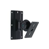 Euromet 04702 | Wall mount speaker bracket, adjustable and ro table, RAL 9005