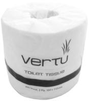 Vertu Deluxe Toilet Rolls 2 Ply 400 Sheet Wrapped Ctn 48
