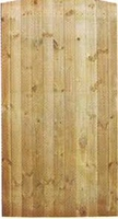 Closeboard gate 1.2m x 175m light green
