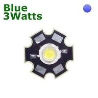 TKL-HP3B | POWER LED 3 WATTS BLUE - WITH DISSIPATOR