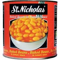 Tin Baked Beans-St.Nicholas-(2.65kg)