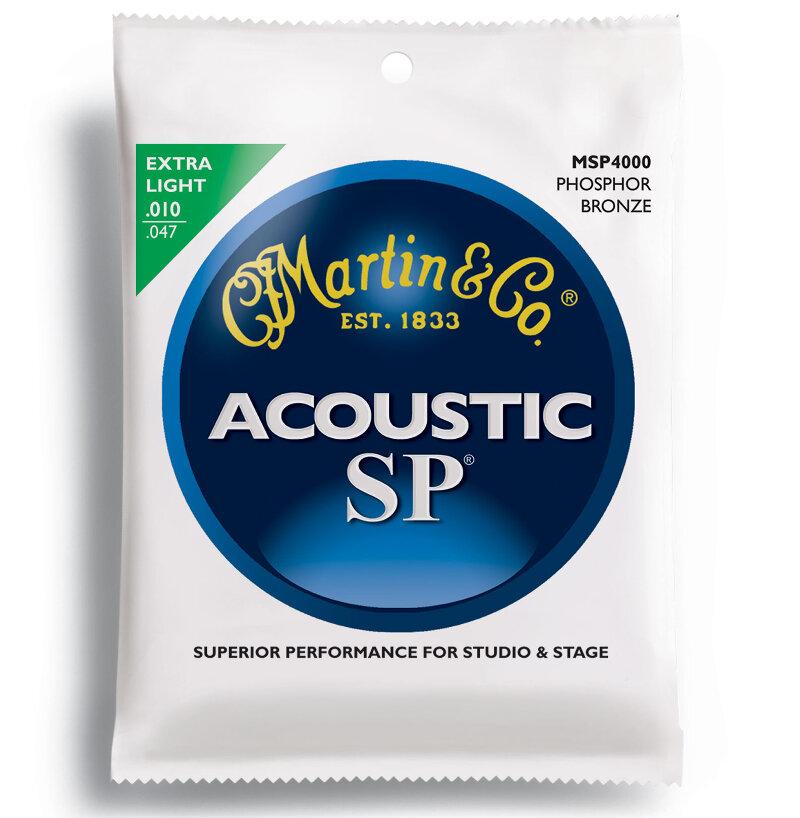 Martin SP series guitar string set, phosphor