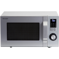 SHARP 900W MICROWAVE 23LTR SILVER