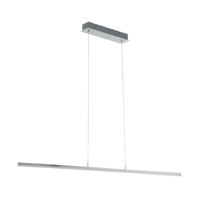 EGLO Flagranera Satin Chrome 19w LED Pendant | LV1902.0089